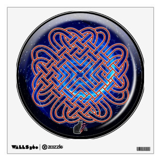 Galactic Celtic Love Knot Wall Sticker