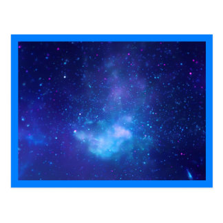 Galactic Center Blue Border Post Cards