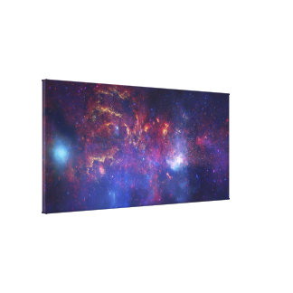 Galactic Center Region Canvas Print