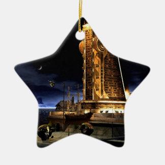 Galactic Cities - Starcity Ceramic Ornament