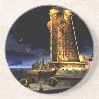 Galactic Cities - Starcity Drink Coaster