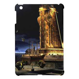 Galactic Cities - Starcity iPad Mini Covers