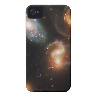 Galactic Collision iPhone 4 Cover