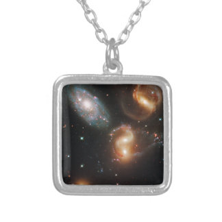 Galactic Collision Necklaces