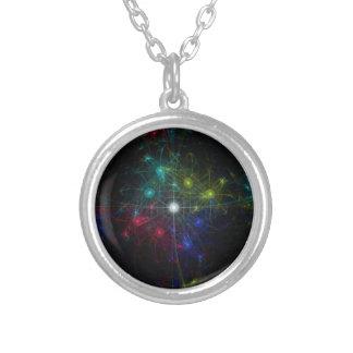 Galactic Coordinates Necklaces