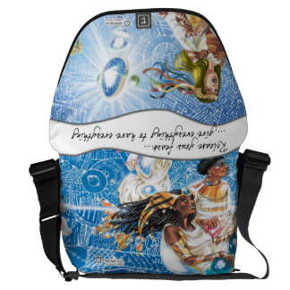 Galactic Council: Release your fears messenger bag