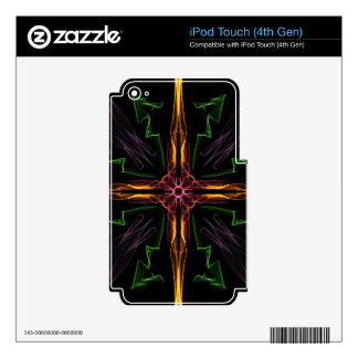 Galactic Cross iPod Touch 4G Skins