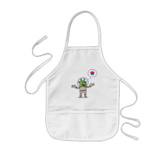 Galactic Cupcake Quest - Kids Apron