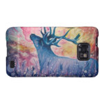Galactic Elk Painting Galaxy S2 Case