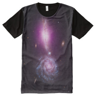 Galactic Exclamation Point All-Over Print T-shirt
