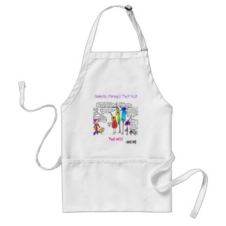 Galactic Family' Doing a Test Visit Adult Apron