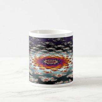 'Galactic Flower' mug