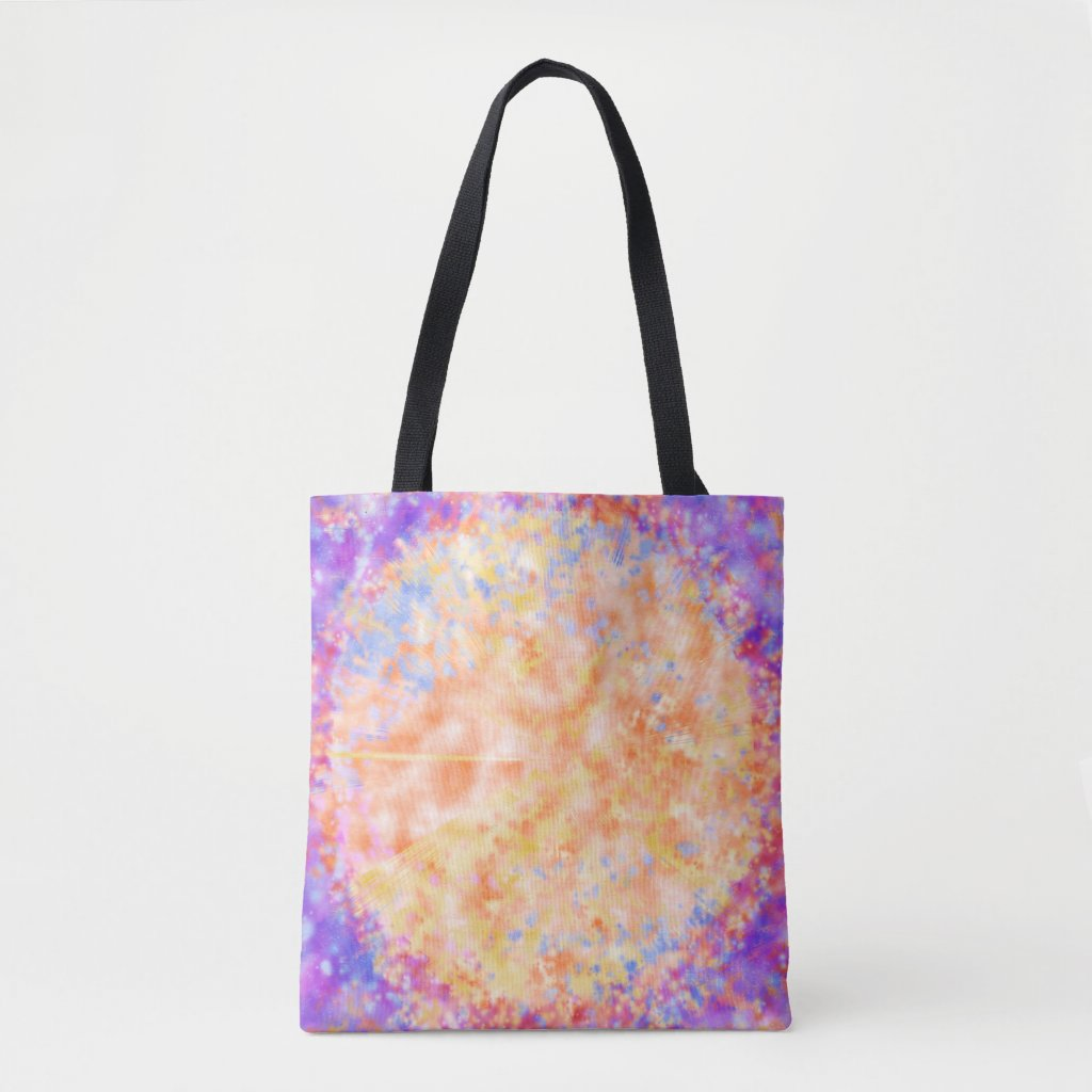 Galactic Force Tote Bag