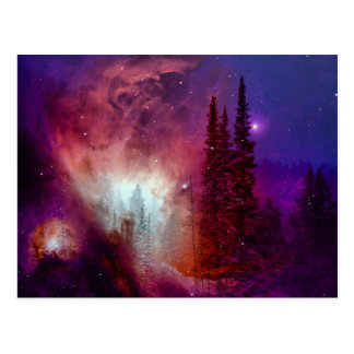 Galactic Forest Post Cards