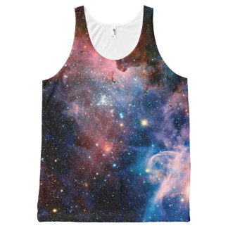 Galactic Galaxy Quest Space Tank All-Over Print Tank Top
