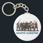 "Galactic Gladiators Keychain<br><div class=""desc"">House of Galen Gladiators from Anna Hackett&#39;s Galactic Gladiators</div>"