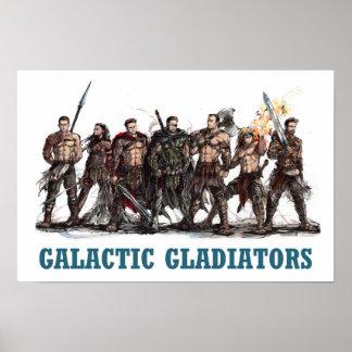 Galactic Gladiators Poster