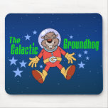 Galactic Groundhog Mouse Pad