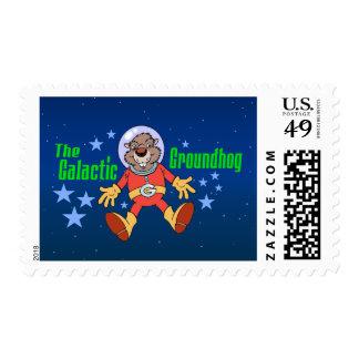 Galactic Groundhog Postage