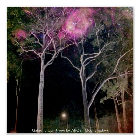 Galactic Gumtrees Poster