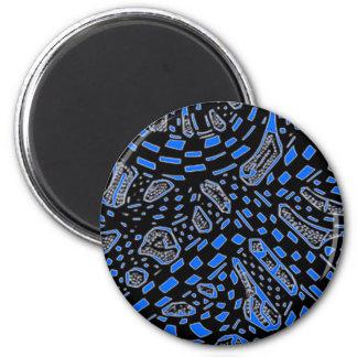 Galactic Interchange In Blue Magnet