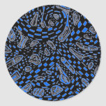 Galactic Interchange In Blue Stickers