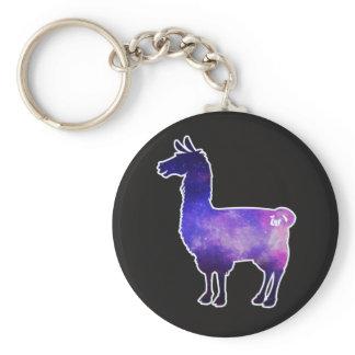 Galactic Llama Keychain