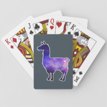 Galactic Llama Playing Cards