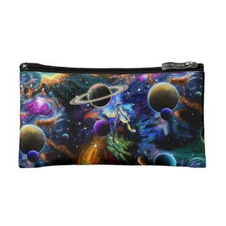 Galactic Nebula and Planets Cosmetic Bag