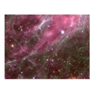 Galactic night sky postcards