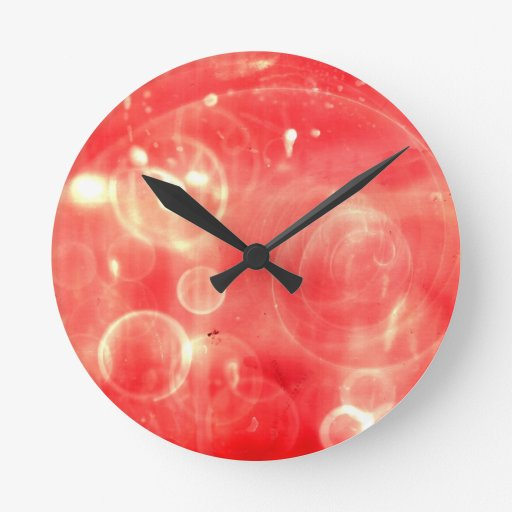 Galactic Noise Round Wall Clocks