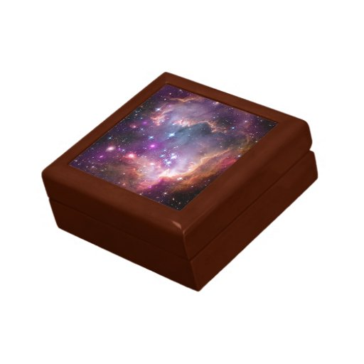 Galactic outer space purple gift box zazzle for Outer space gifts