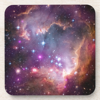 Galactic Outer Space Purple Nebulae Beverage Coaster