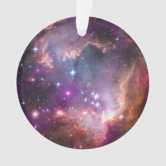 Galactic Outer Space Purple Nebulae Ornament