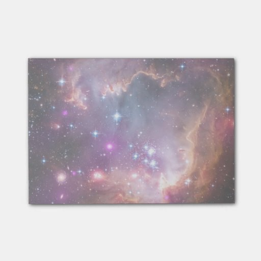 Galactic Outer Space Purple Nebulae Post-It Notes