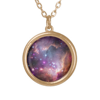 Galactic Outer Space Purple Pendants