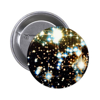 Galactic space awesomeness for cosmic glory pinback button