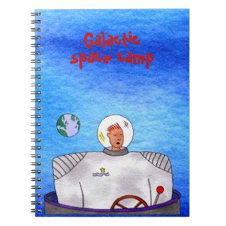 Galactic Space Camp TinCan SpaceMan Notebook