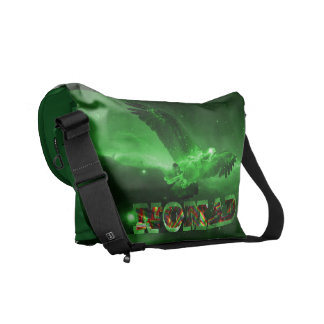 Galactic Space Eagle Courier Bag