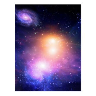 Galactic Space Post Card