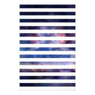 Galactic Stripes Stationery
