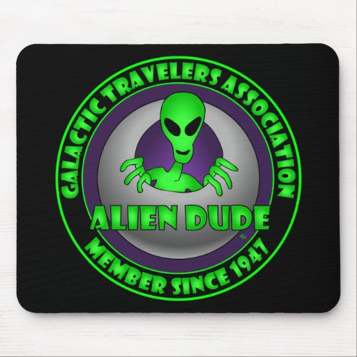 GALACTIC TRAVELERS-1 MOUSE PAD