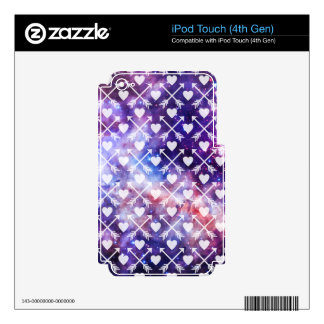 Galactic Tribal Hearts and Arrows Decal For iPod Touch 4G