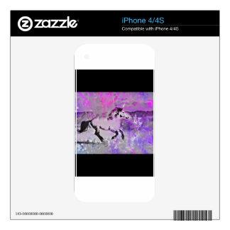 Galactic Unicorn iPhone 4S Skin