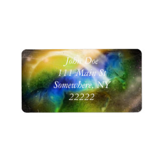 Galactic Unicorn Label