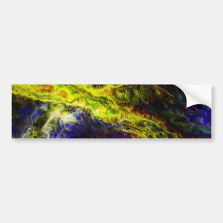 Galactic Vapors Bumper Sticker