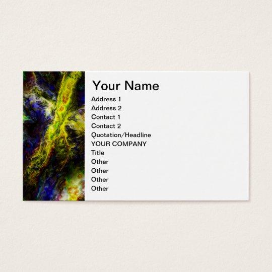 Galactic Vapors Business Card