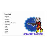 Galactic Warrior Business Cards