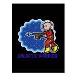 Galactic Warrior Postcard