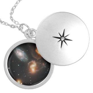 Galactic Wreckage in Stephan's Quintet Pendants